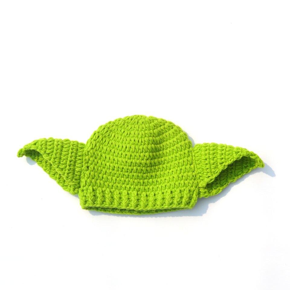 2016 Hot Star Wars Yoda Outfits Crochet Baby Yoda disfraz recién ...