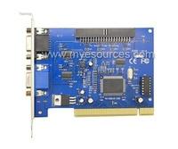 V250B logiciel V8.2 GV carte pour cctv pc système vidéo carte de capture PAL/NTSC MPEG-4 compression CCTV DVR Carte livraison gratuite
