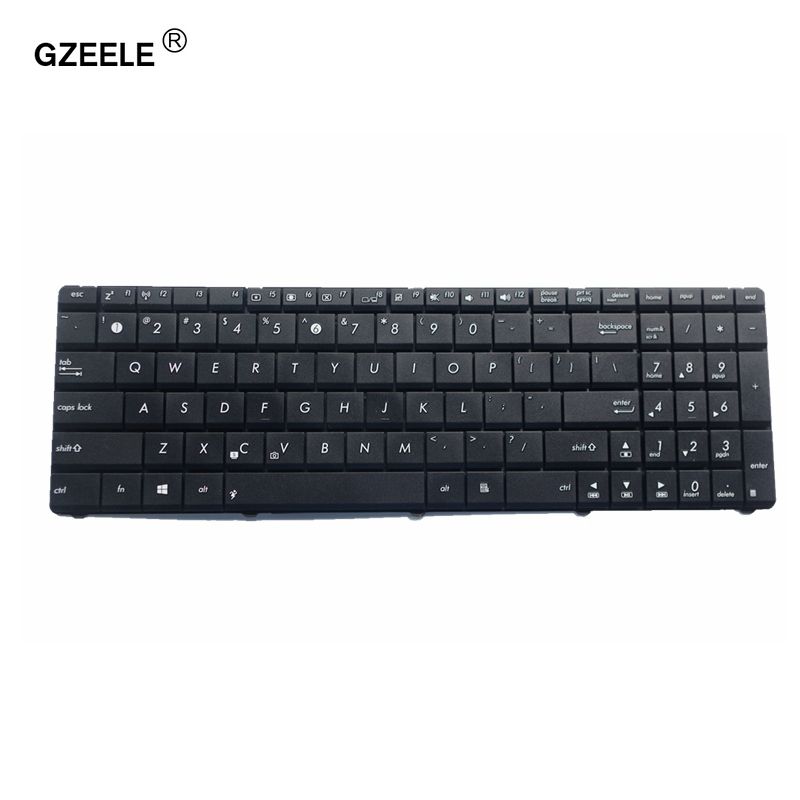 GZEELE laptop Keyboard for Asus X55 X55A X55C X55U X55VD X75 X75A X75S X75U X75V X75VB X75VC X75VD K55 K55D K55DE K55DR free shipping x75a 4g ram mainboard for asus r704v x75vd x75a x75a1 x75v x75vb x75vc laptop motherboard hm76 60 ndomb1501 b06