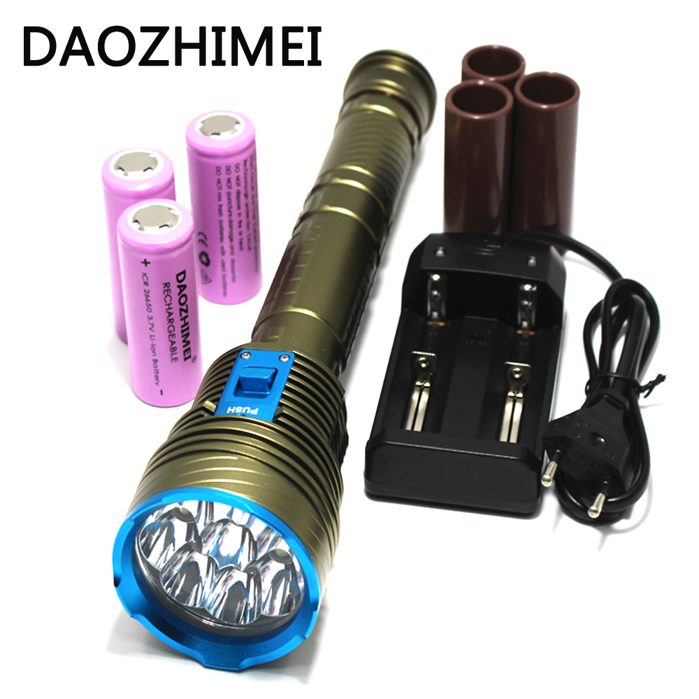 30000 Lumen XML 9x L2 LED Underwater 3 mode Waterproof LED Diving Flashlight Flash Light Lamp Lantern+3*18650 battery/Charger sitemap 56 xml