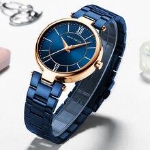 MINIFOCUS Fashion Women Watches Top Brand Luxury Designer Waterproof Lady Watch For Woman Quartz Female Wristwatch