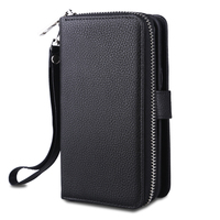 Multi Function Leather Cover For Samsung Galaxy S8 Case 2 In 1 Detachable Wallet Case For