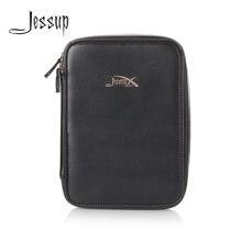 Jessup Королевский золотой и черный косметичка набор для макияжа
