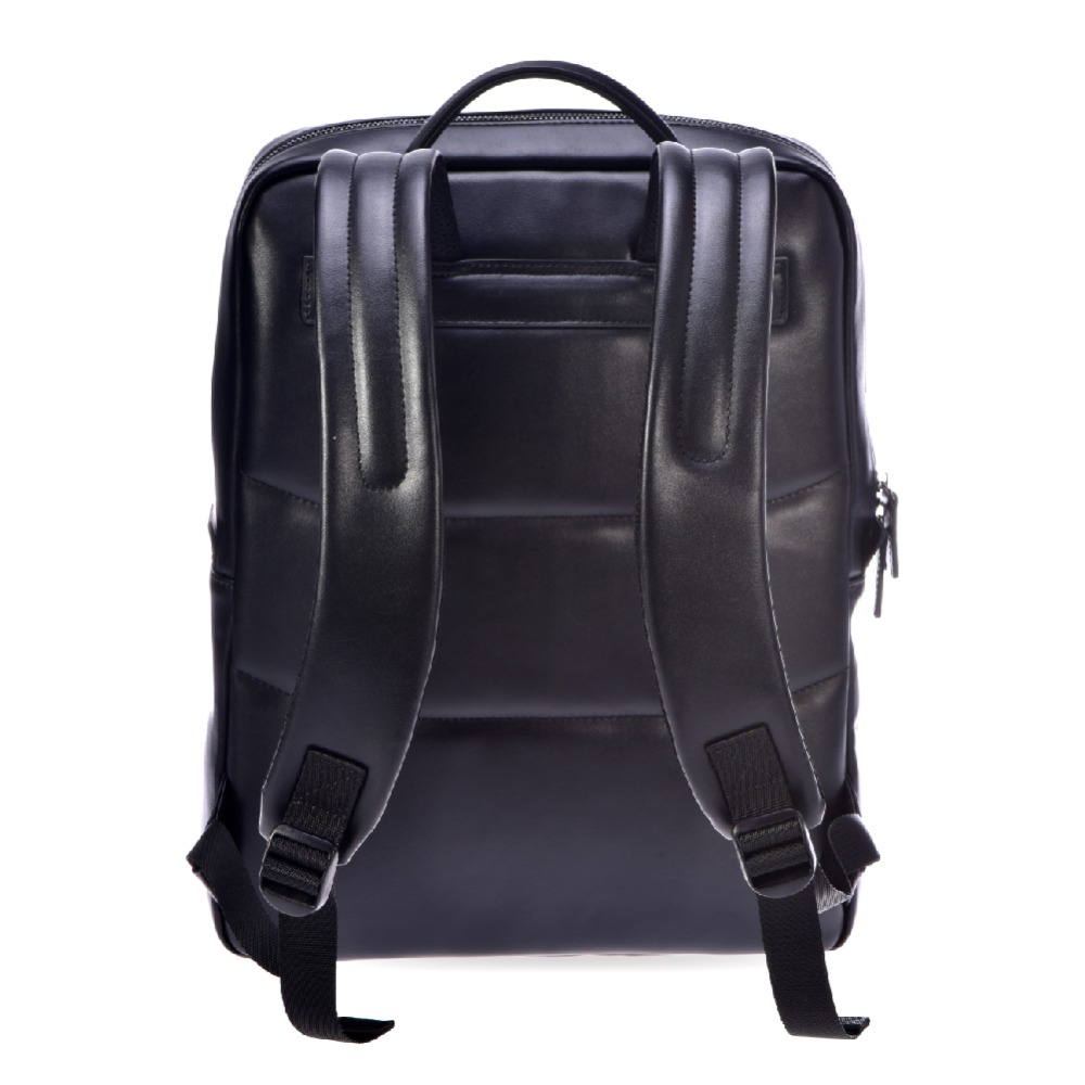 College Leather Men Backpack