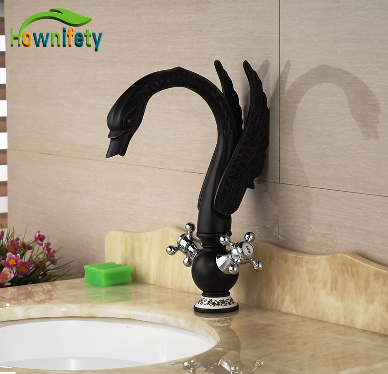 Widespread Oil Rubbed Broze Double Handles Animal Shape
