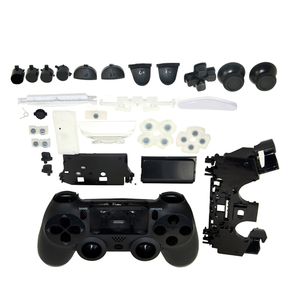 50sets Gamepad Controller Housing Shell W/Buttons Kit for PS4 Handle Cover Case full set50sets Gamepad Controller Housing Shell W/Buttons Kit for PS4 Handle Cover Case full set