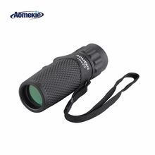 AOMEKIE Pocket Size Monocular 10X25 HD Optical Lens Outdoor Golf Bird Watching Camping Telescope Mini Portable Spotting Scope(China)