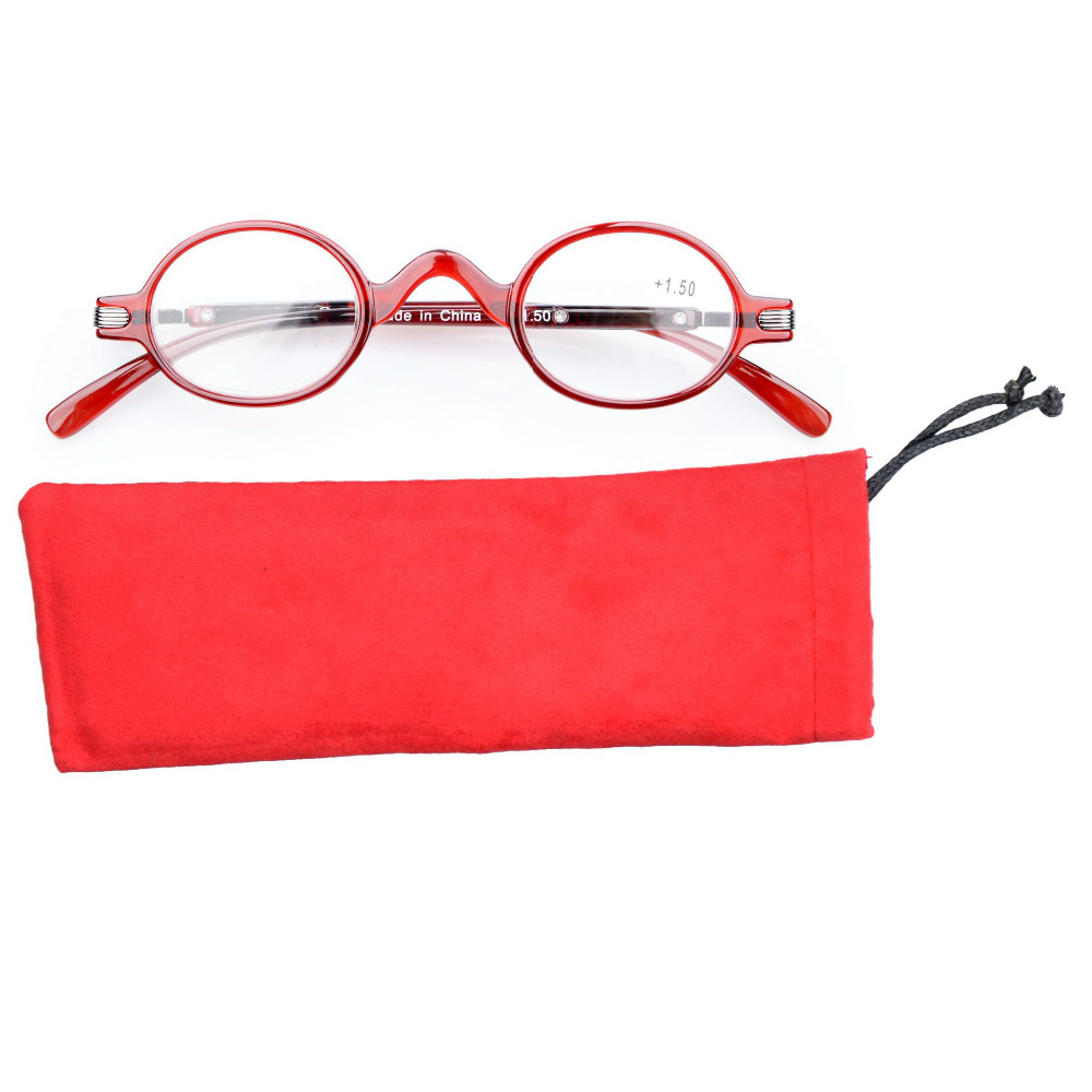 4cc9a45697ac R077 Eyekepper Readers Spring Temple Vintage Mini Small Oval Round Reading  Glasses   Reading Sunglasses +