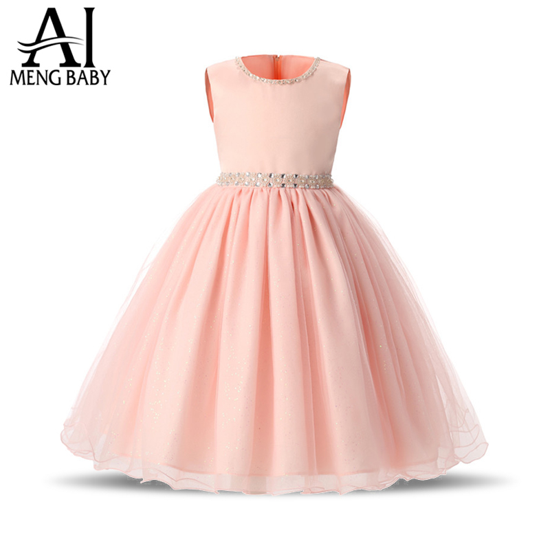 Buy ai meng baby girl princess dress for Wedding party dresses for girl
