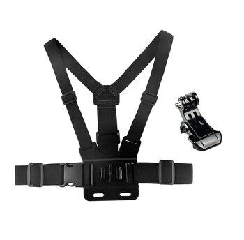 Tekcam Borst Mount Harness Voor Actie Camera Gaan Pro Hero 6/5/4/3 Xiaomi Yi/Yi 2 4 K/Yi Lite/Sjcam/Eken H9/H9r Gitup Thieye T5e
