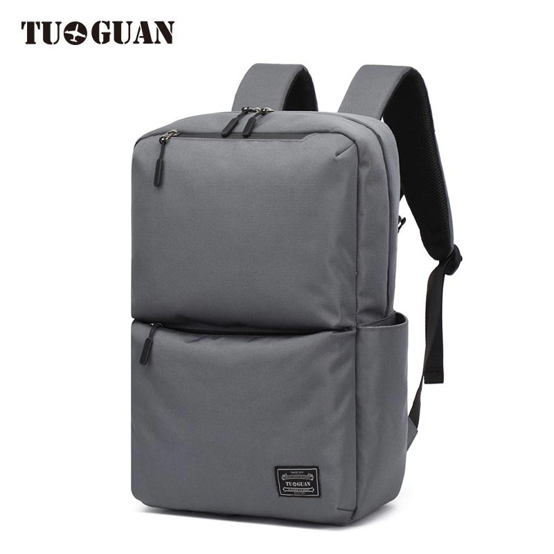 TUGUAN Men Canvas Backpack Anti Theft Schoolbag College Student Laptop Back Pack Large Capacity Travel Bag for Boy Male Bagpack augur 2018 brand men backpack waterproof 15inch laptop back teenage college dayback larger capacity travel bag pack for male
