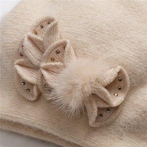 Image 5 - Chapeaux dhiver Double couche pour femmes