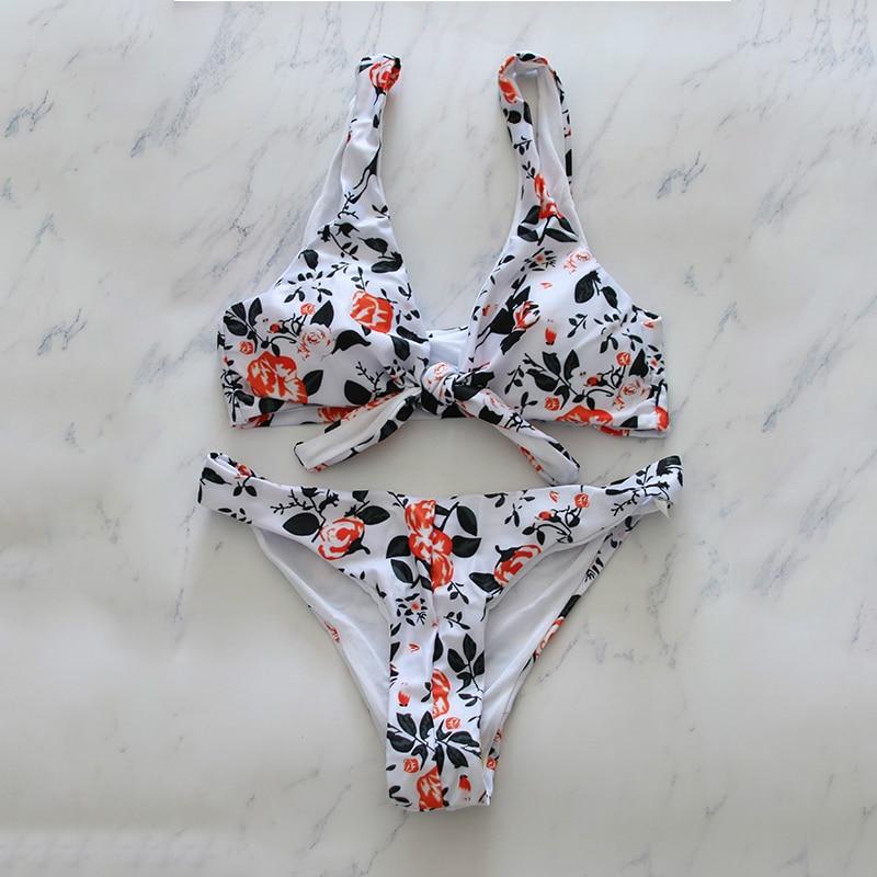 Bikini-set Schwimmen Ordentlich Hohe Taille Badeanzüge Red Leopard Sexy Tanga Brazilian Bikini Push Up Bademode Frauen Badeanzug Monokini Bikinis 2019 Mujer GüNstige VerkäUfe