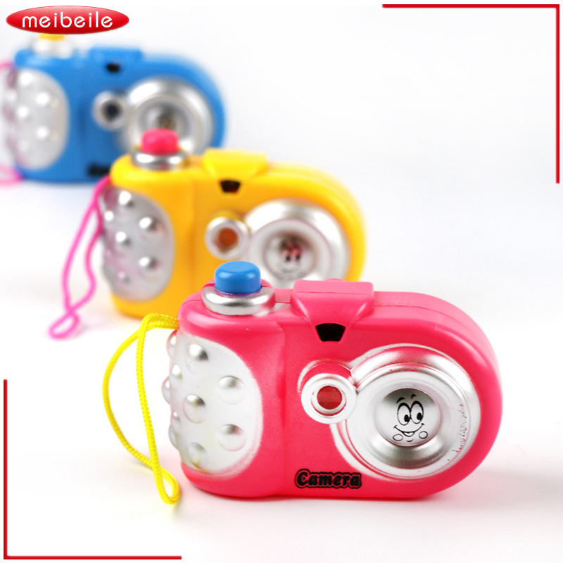 3Pcs/Lot Toy Camera Cute Baby Educational Light Projection 9 Pictures Camera Toy Christmas Birthday Gift  Funny Toy For Toddler