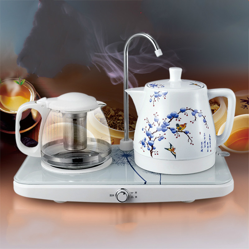 Electric kettle Automatic upper water and teapot ceramic electric set