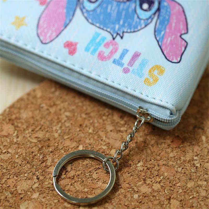 דיסני ילדי קריקטורה ארנק מטבע מיקי עכבר מטבע תיק ילדה ילד מתנת תיק אחסון מפתח תליון תיק קיד מנות ארנק קפוא