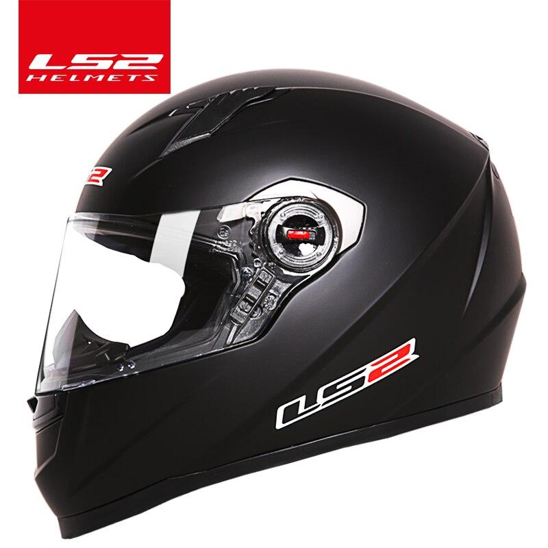 Оригинальные LS2 FF358 полный лицо мотоциклетный шлем ls2 мотокросс мужчина женщина КАСКО мото шлем LS2 ЕЭК одобрили без насоса