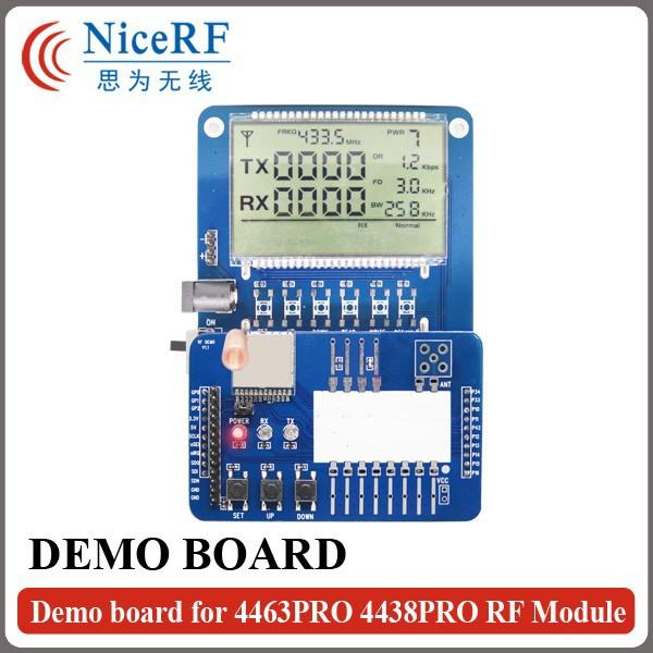 Demo board for 4463PRO 4438PRO RF Module