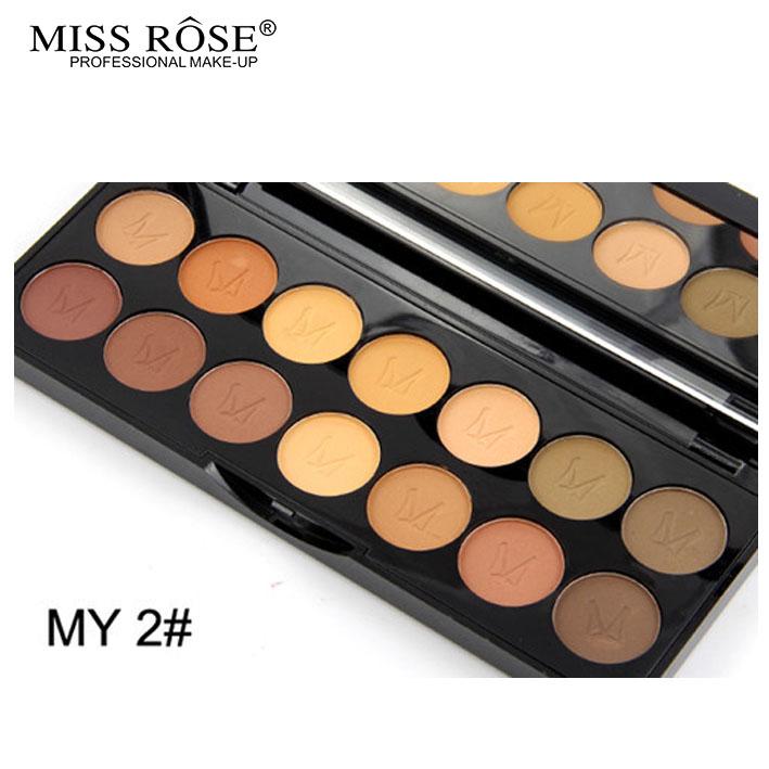2016 MISS ROSE Shimmer 14colors diamond bright colorful eye shadow super flash paleta Glitter eyeshadow pallete matte Eyeshadow8