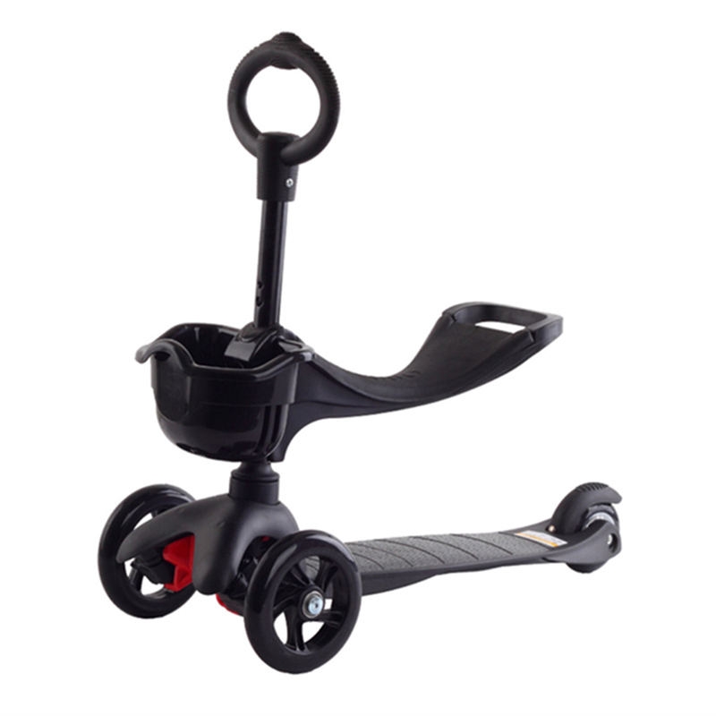 marshki mini 3 in 1 kids scooter height can adjust scooter flash wheel cute scooter 3 wheels can. Black Bedroom Furniture Sets. Home Design Ideas