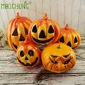 Careta Halloween Abóboras artificiais Decoração Para O Dia de acção de Graças da Queda do Outono Festa Bar Decor Decorativa Falso Frutas Abóbora NOVA