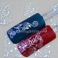 Высокое Качество Серебро Золото 3D Nail Art Наклейки Надписи Для Ногтей Советы Украшения Питания Инструменты Горячего тиснения TY055