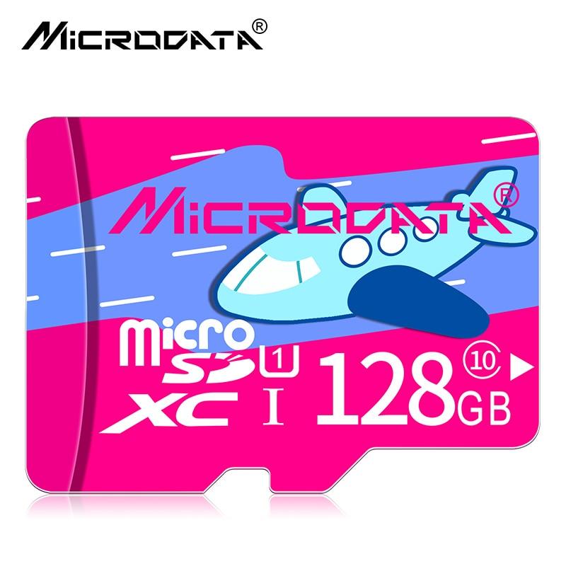 MICRODATA Robot Series Micro SD Card 32GB UHS-1 16/32/128GB Class10 Flash Memory Card 16gb Micro SDHC/SDXC tf card For camera