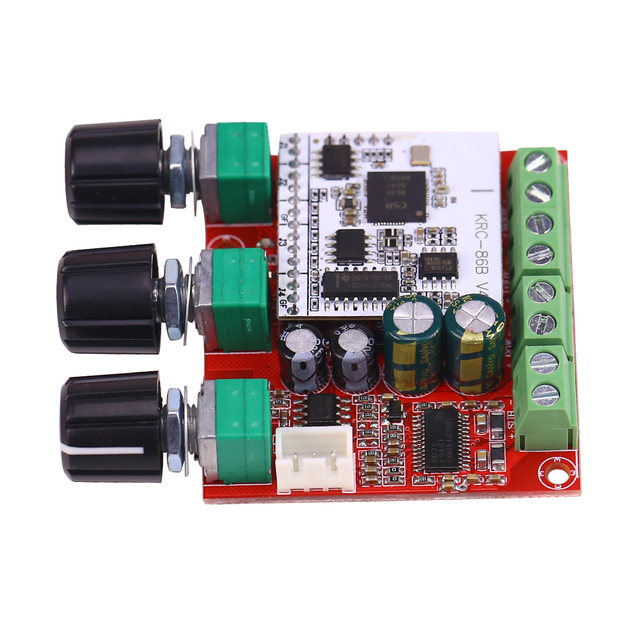 Ghxamp 2.1 Bluetooth Subwoofer Amplifier Speaker Board 15W*2+30W TPA3110 Digital Active Lossless computer sound amplifier