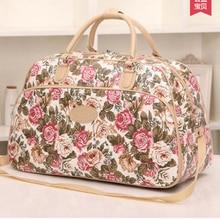 Mode Wasserdichte Reisetaschen Große Kapazität Gepäck Duffle Taschen Beiläufige Handtaschen Frauen Heißer Verkauf Reisetaschen