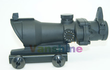 Trijicon ACOG 1×32 crosshair Green and Red dot Scope with red dot sight Tactical Shooting /Hunting scope