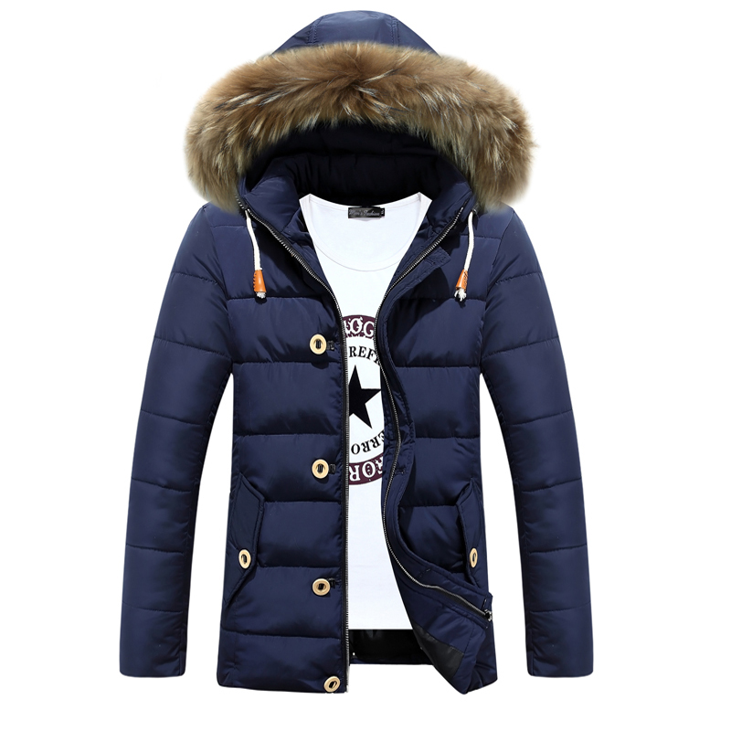 Popular Designer Padded Mens Coats Fur Hood-Buy Cheap Designer