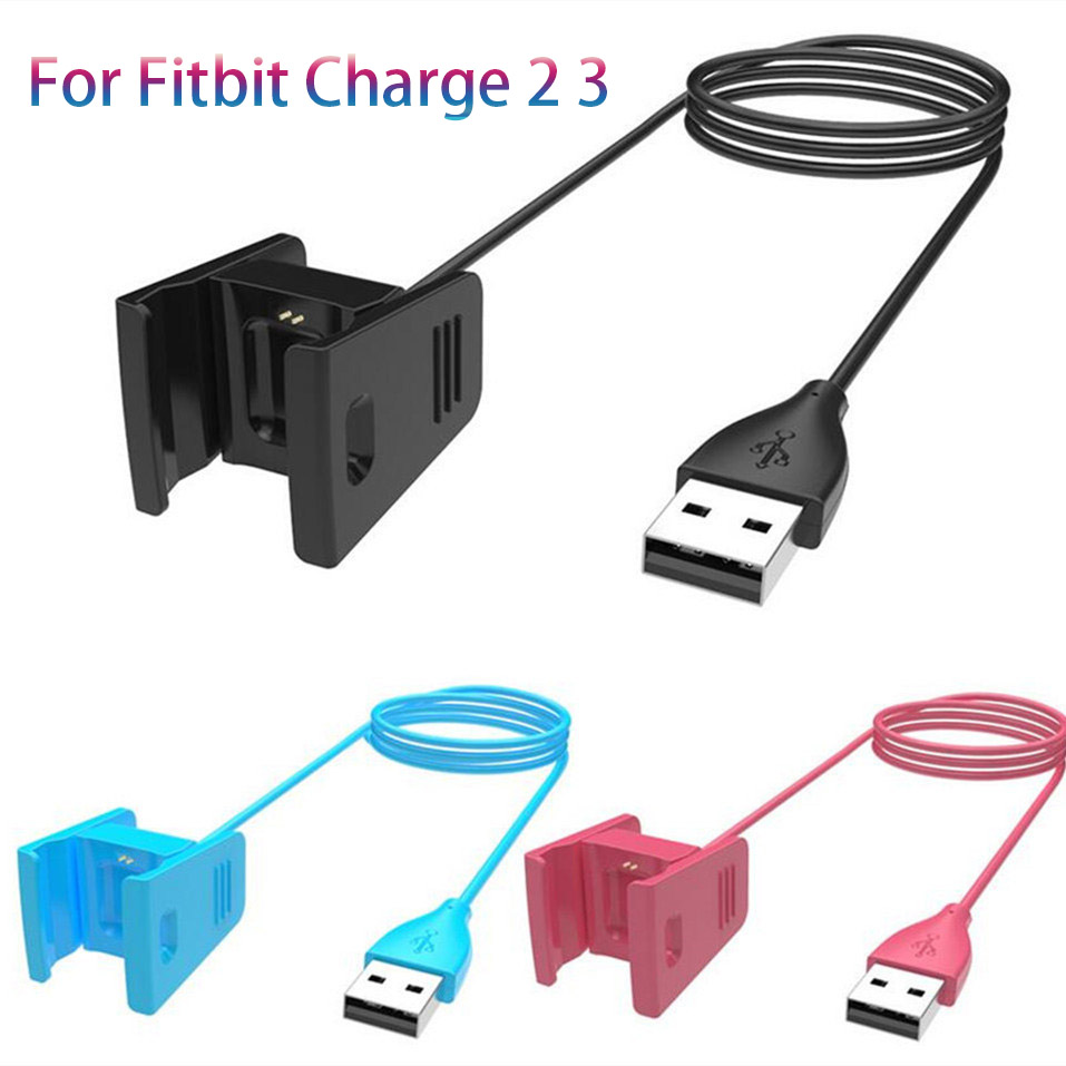 Chargers Replaceable Usb Charger For Fitbit Charge 3 Smart Bracelet 55cm/100cm Length Charging Cable For Fitbit Charge 2 3 Wristband Mild And Mellow