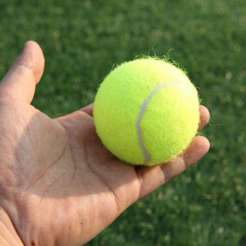 18pcs/set Tennis Balls With Net Sports Tournament Outdoor Fun Cricket Beach Dog High Quality Sport Training From USA Shipping