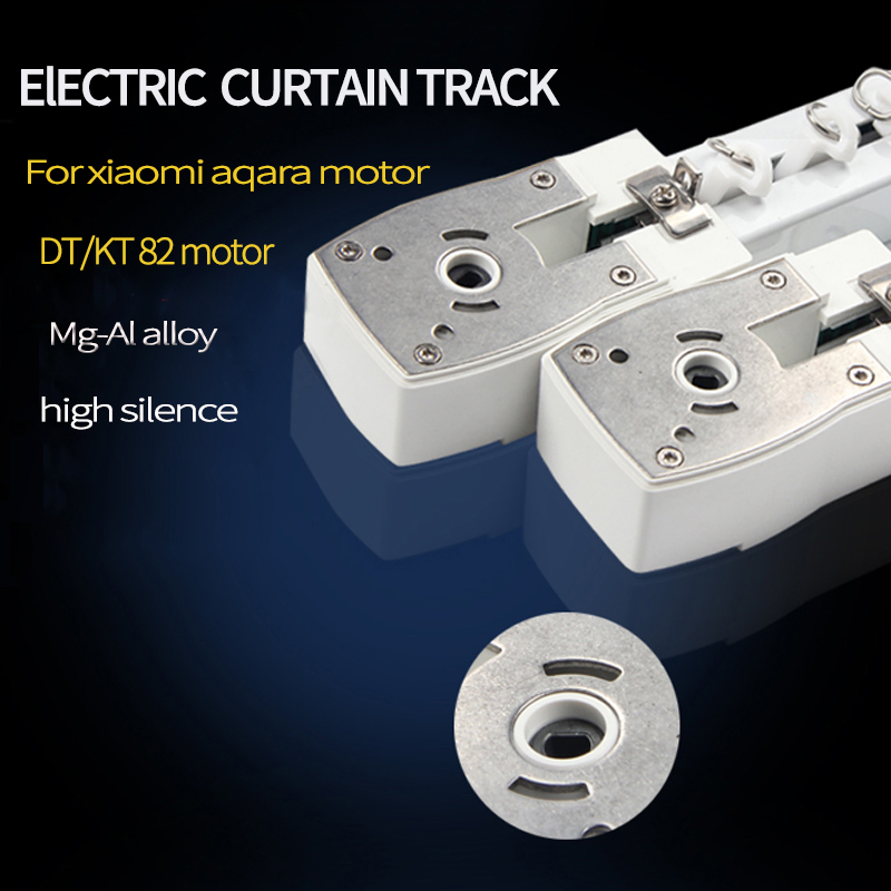 Original Xiaomi aqara /Dooya KT82/DT82 motor Customizable Super Quite Electric Curtain Track for smart home