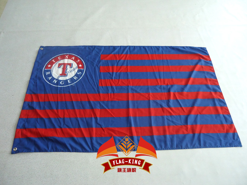 MLB Texas Rangers Flag 3x5 FT 150X90CM Banner 100D Polyester flag