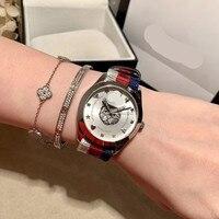 Знаменитые женские часы Топ подиум роскошный европейский дизайн автоматические кварцевые наручные часы FL284P