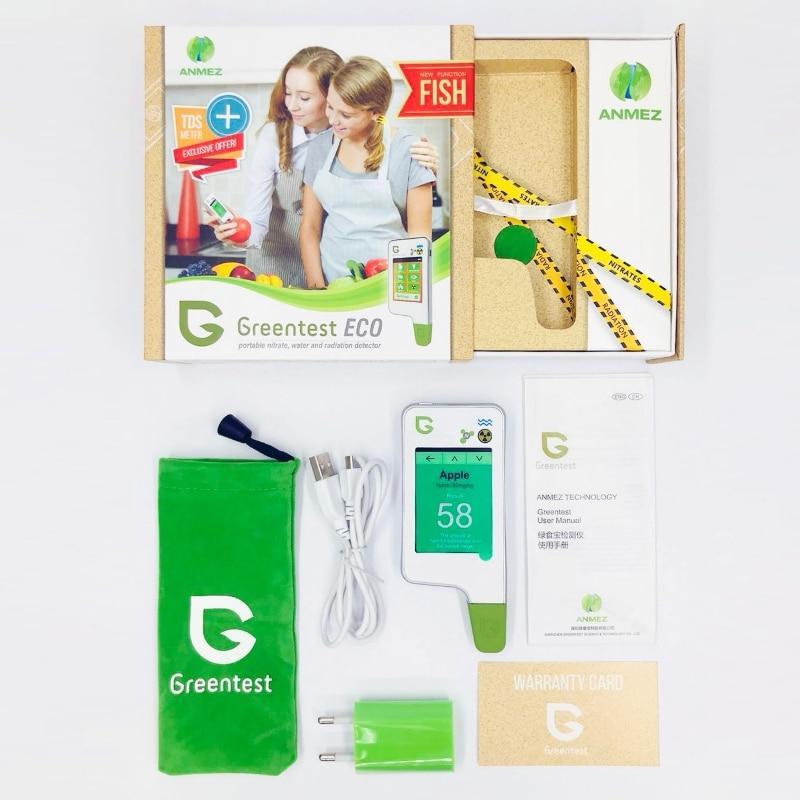 2019 greentest eco 5f novo! Alimento da