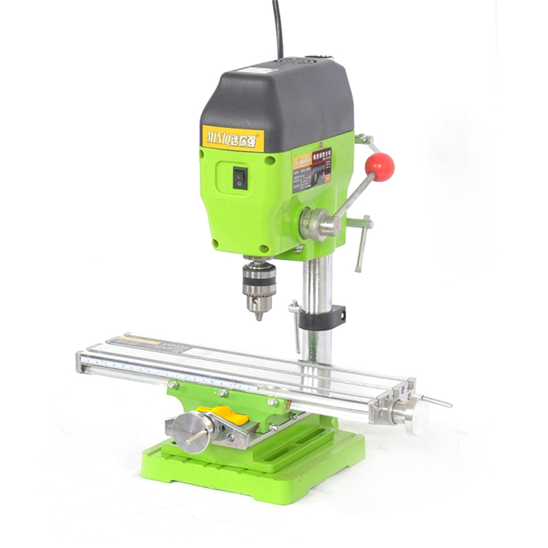 Upgraded Version Mini Workbench Electric Drill Stand Bench Installation Micro Milling Machine Cross Slide DIY Table Stand