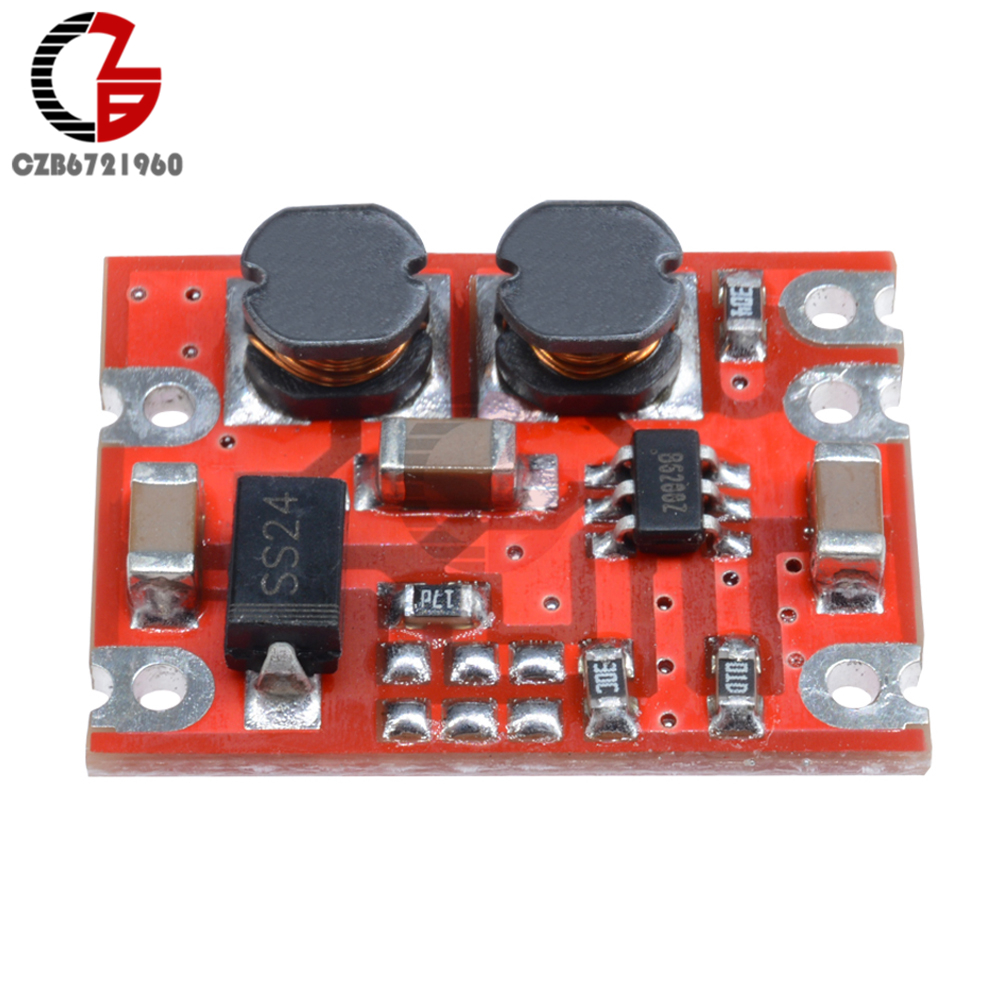 DC-DC Auto Boost Buck Converter Module DC 2.5-15V to DC 3.3V 4.2V 5V 9V 12V Step Up Down Voltage Regulator Power Inverter Supply