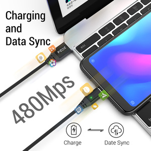 Image 3 - PZOZ Magnetic Cable Fast Charging Micro usb cable Type c Magnet Charger usb c Microusb Wire For iphone 12 11 pro xs max Xr x 7 8