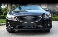 ABS Chrome Frontale Inferiore Grille Grill Stampaggio Trim Esterno Cromo Styling Parts 2 pz Per Mazda 6 M6 Atenza 2013 2014 2015