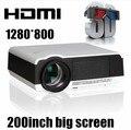 Горячая! Full HD из светодиодов для домашнего кинотеатра жк-проектор 4000 lumens высокая яркость для использования в дневное время, С идеального эффекта дисплея