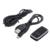 Caliente 2-en-1 Bluetooth V2.1 Receptor y Transmisor Inalámbrico A2DP/AVRCP Perfiles Bluetooth Audio 2in1 Adaptador para teléfonos inteligentes