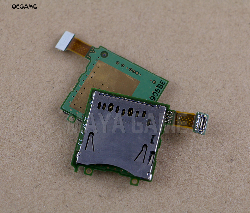 OCGAME Original Used SD Card Slot Socket Replacement For 3DS Game Console image