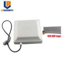 LPSECURITY entegre UHF RFID kart okuyucu 6M uzun menzilli 8dbi anten RS232/RS485/WG26 100 kart isteğe bağlı park sistemi