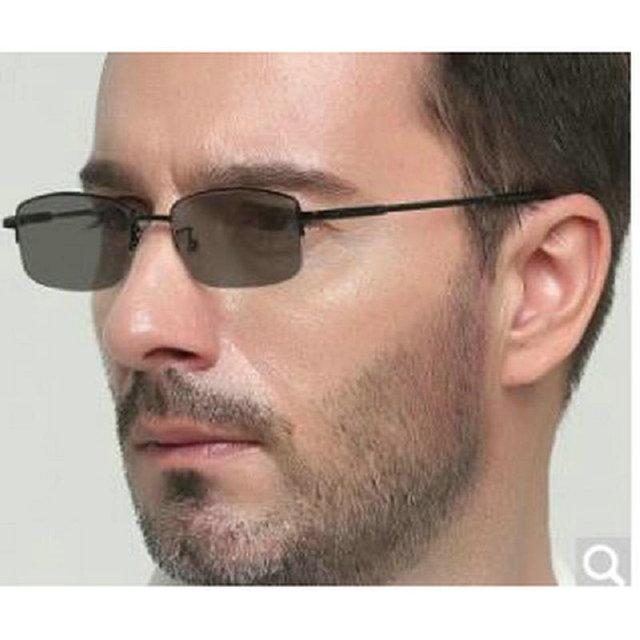 mincl/Anti-UV-reflective Progressive Multifocal glasses Transition Sun Photochromic Reading Glasses men See Near Far diopt FML