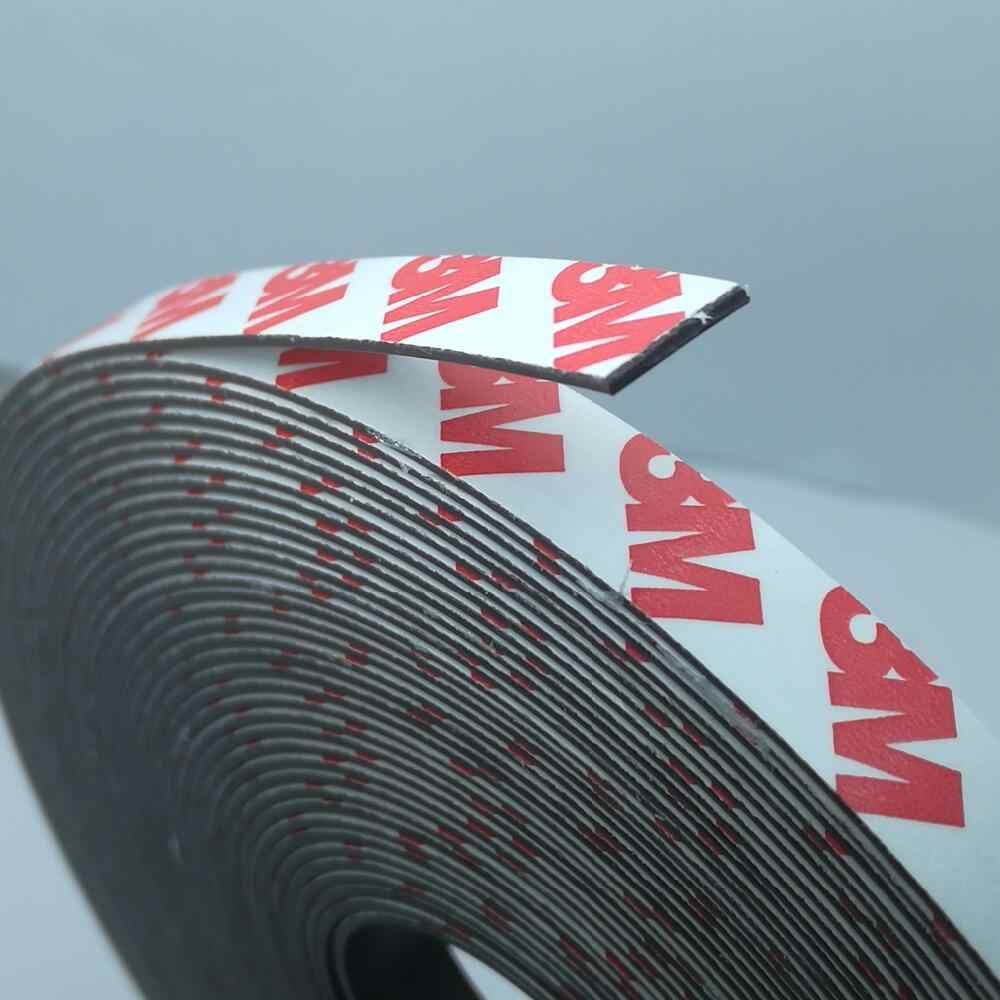1 Meter/lot Rubber Magnet 10*1 mm self Adhesive Flexible Magnetic Strip Rubber Magnet Tape width 10 mm thickness 1 mm