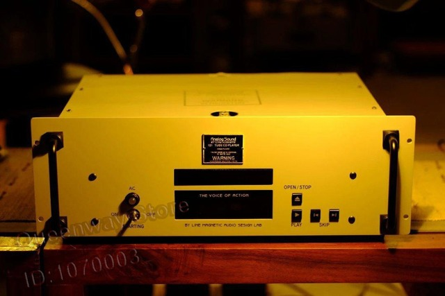 R-010 Line Tube Magnetic Amplifier Analog Sound AS-121 Tube Vacuum Tube Amplifier Output CD Player Phillips 1202 Chip