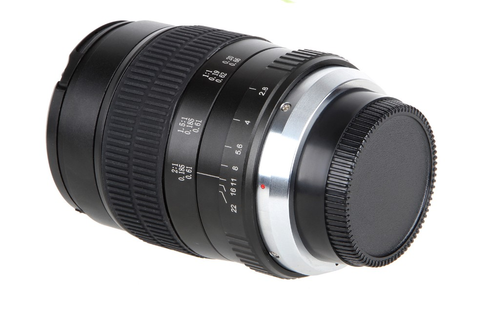 60mm f/2.8 2:1 Super Macro Manual Focus Lens for Nikon F Mount D70 D50 D30 D800 D700 DSLR 5