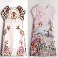 Baby Girl Dress Princess Costume 2017 New Brand Kids Summer Clothes Girls Dresses Leopard Print Children Birthday Dress